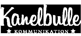 Kanelbulle kommunikation logotyp